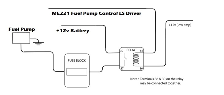 5 Pin Relay Wiring Diagram Fuel Pump from motorsport-electronics.co.uk
